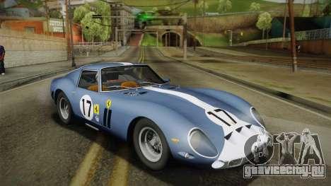 Ferrari 250 GTO (Series I) 1962 HQLM PJ2 для GTA San Andreas вид слева