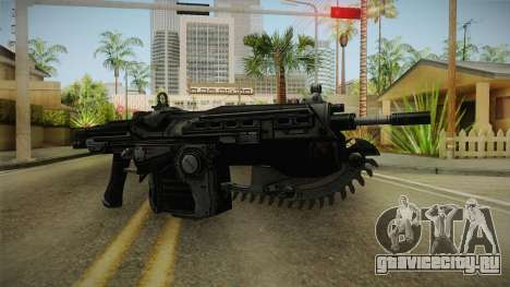 Gears Of War II - Mark 2 Lancer Assault Rifle для GTA San Andreas второй скриншот