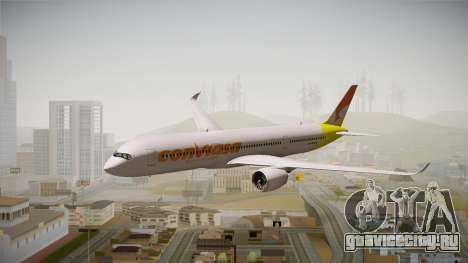 Airbus A350 Conviasa для GTA San Andreas вид сзади слева