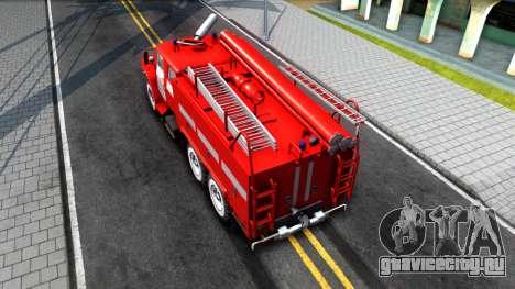 Урал 375 Виктора Кибенка для GTA San Andreas вид сзади