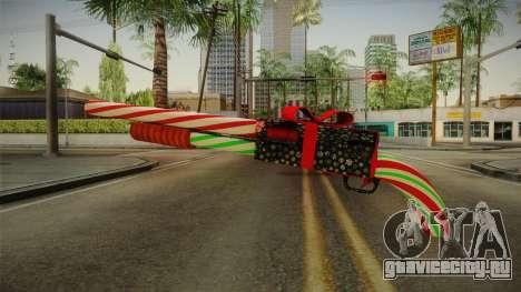 Vindi Xmas Weapon 2 для GTA San Andreas второй скриншот