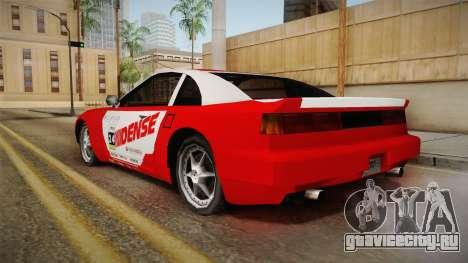 ETR1 EuR0S Red для GTA San Andreas вид слева