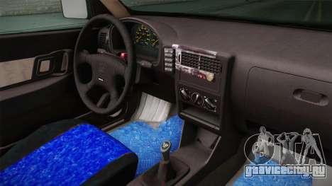 Seat Ibiza 1995 SWAP 1.6 для GTA San Andreas вид изнутри