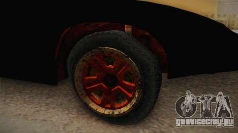 GTA 5 Imponte Ruiner 3 Wreck IVF для GTA San Andreas вид сзади