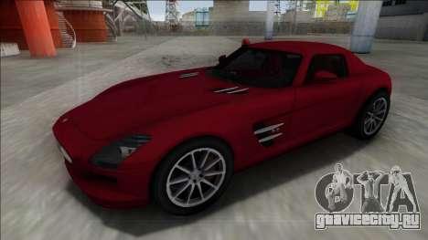 2010 Mercedes-Benz SLS AMG FBI для GTA San Andreas