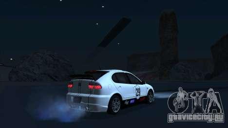 2003 Seat Leon Cupra R Series I для GTA San Andreas вид снизу