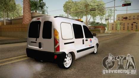 Renault Kangoo MASKargo Animal Hotel для GTA San Andreas вид слева