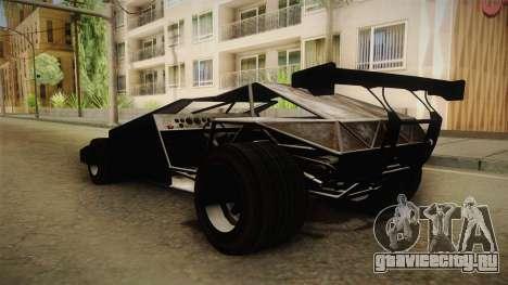 GTA 5 Ramp Buggy для GTA San Andreas вид сзади слева