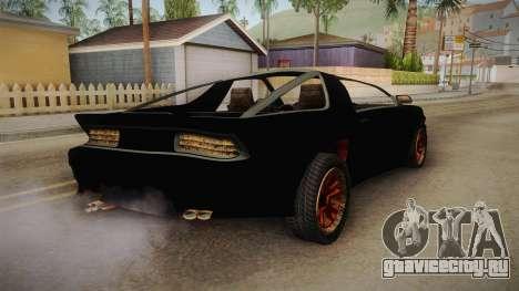 GTA 5 Imponte Ruiner 3 Wreck IVF для GTA San Andreas вид сзади слева
