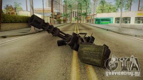 Minigun для GTA San Andreas