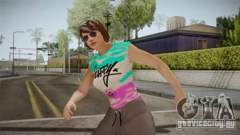 GTA Online DLC Import-Export Female Skin 1 для GTA San Andreas
