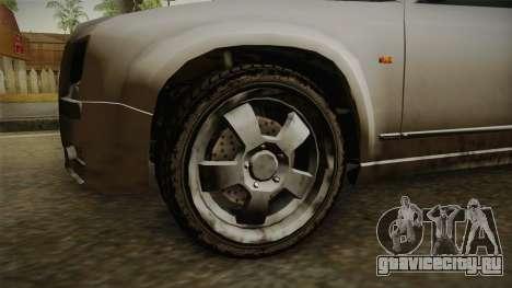 GTA 4 Schyster PMP600 SA Style для GTA San Andreas вид сзади