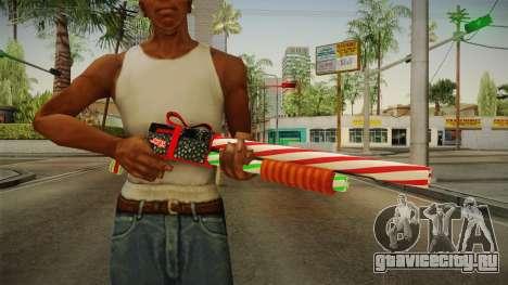 Vindi Xmas Weapon 2 для GTA San Andreas третий скриншот