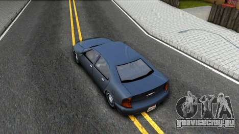GTA 3 Kuruma SA style V2 для GTA San Andreas вид сзади