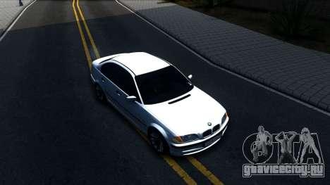 BMW E46 для GTA San Andreas вид справа