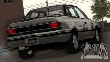 Subaru Legacy RS для GTA San Andreas вид сверху