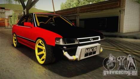 Subaru Legacy RS Drift для GTA San Andreas