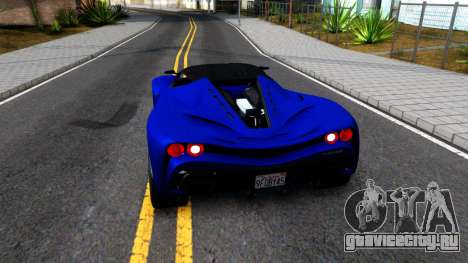 Grotti Turismo RXX K From GTA 5 для GTA San Andreas