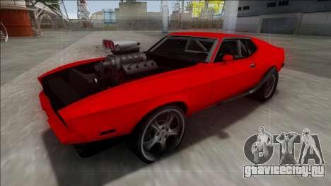 1971 Ford Mustang Drag для GTA San Andreas