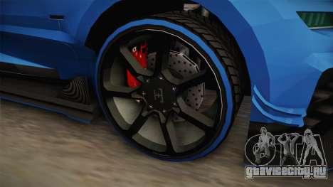 GTA 5 Truffade Nero Custom для GTA San Andreas вид сзади
