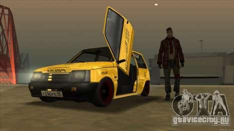 ВАЗ 1111 Оказия для GTA San Andreas вид сзади слева