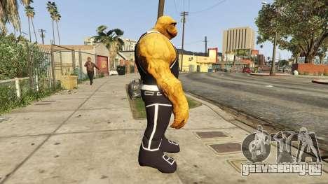 The Thing Black Jersey для GTA 5 второй скриншот
