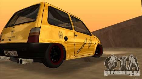ВАЗ 1111 Оказия для GTA San Andreas вид слева