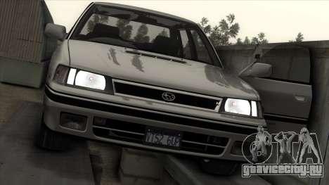 Subaru Legacy RS для GTA San Andreas салон