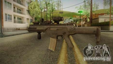 ARX-160 Tactical v2 для GTA San Andreas третий скриншот