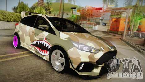 Ford Focus RS 2017 4x4 Drift для GTA San Andreas