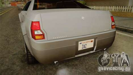 GTA 4 Schyster PMP600 SA Style для GTA San Andreas вид изнутри