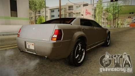 GTA 4 Schyster PMP600 SA Style для GTA San Andreas вид сзади слева