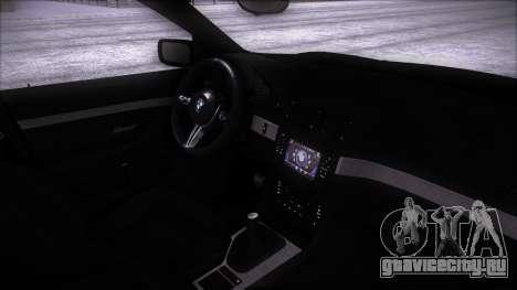 BMW 540 E39 для GTA San Andreas вид сзади слева