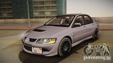 Mitsubishi Lancer GSR Evolution VIII 2003 для GTA San Andreas