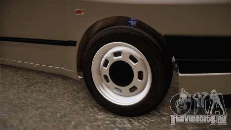 Seat Ibiza 1995 SWAP 1.6 для GTA San Andreas вид сзади