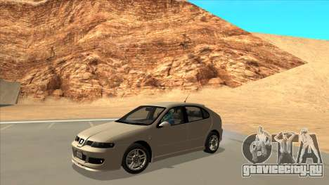 2003 Seat Leon Cupra R Series I для GTA San Andreas