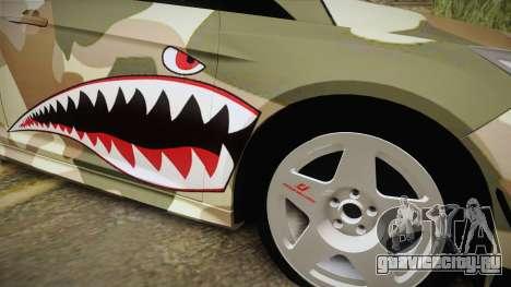 Ford Focus RS 2017 4x4 Drift для GTA San Andreas вид сзади