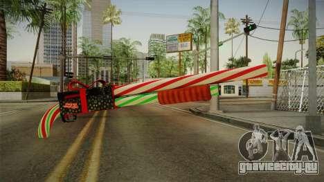 Vindi Xmas Weapon 2 для GTA San Andreas
