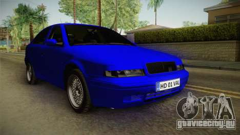 Skoda Octavia Simply Clean для GTA San Andreas
