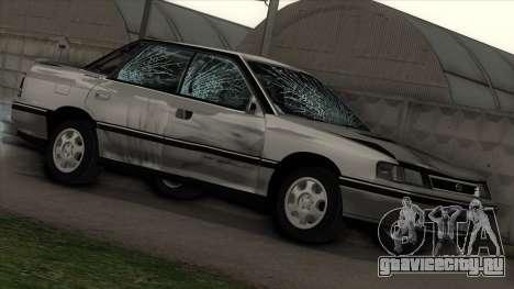 Subaru Legacy RS для GTA San Andreas вид сбоку