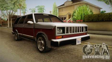 Bobcat Station Wagon v2 для GTA San Andreas вид справа