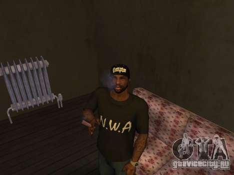 Pack Clothes N.W.A To Cj HD для GTA San Andreas третий скриншот