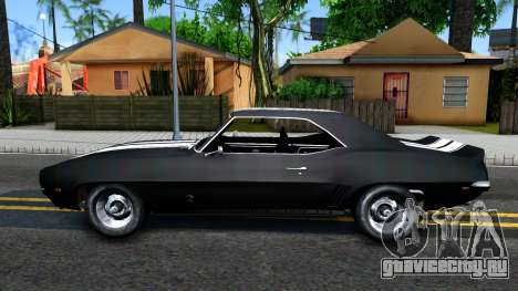 Chevrolet Camaro 1969 для GTA San Andreas вид слева