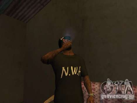 Pack Clothes N.W.A To Cj HD для GTA San Andreas второй скриншот