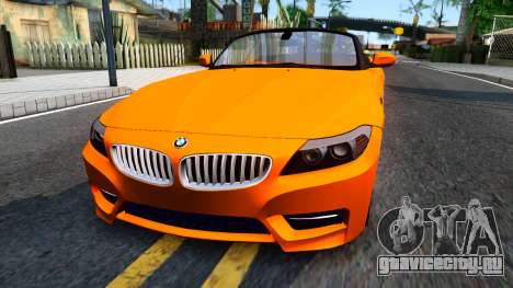 BMW Z4 sDrive35is для GTA San Andreas