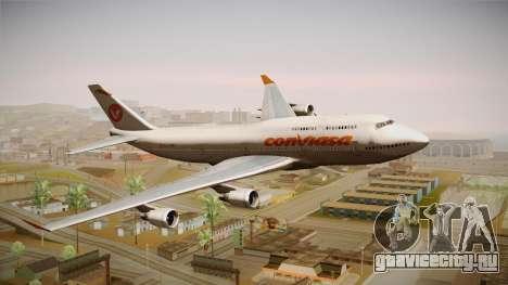 Boeing 747-400 Conviasa для GTA San Andreas