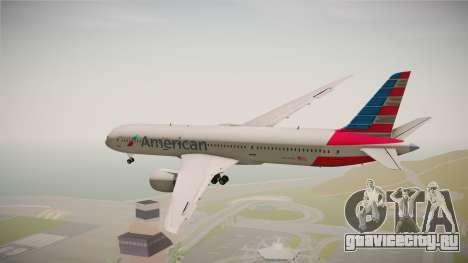 Boeing 787 American Airlines для GTA San Andreas вид справа