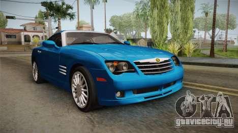 Chrysler Crossfire SRT-6 2006 для GTA San Andreas вид справа