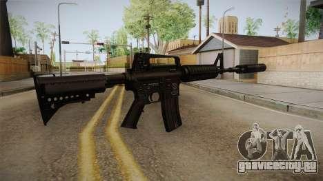 M4A1 Silenced для GTA San Andreas второй скриншот
