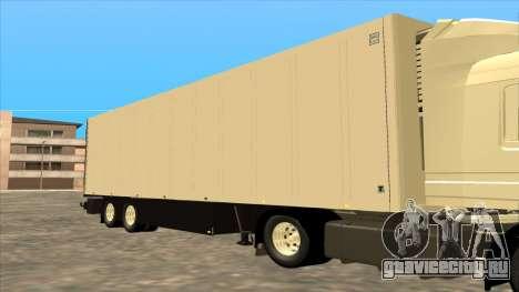 Прицеп Shmitz Cargobull для GTA San Andreas вид сзади слева